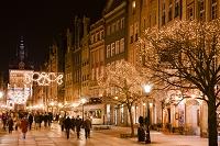 12月のマリアツカ通り/夜景