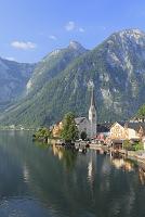 オーストリア ハルシュタット ハルシュタット湖と街並み