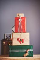 クリスマスプレゼントのギフトボックス