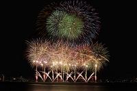 長野県 諏訪湖祭湖上花火大会 フラッシュカーニバル