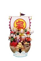 申の七福神と宝船