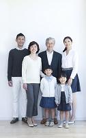 日本人三世代ファミリー
