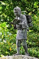神奈川県 二宮金次郎の銅像