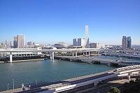 東京都 台場から見た有明方面