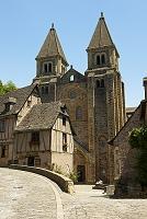 フランス サント・フォワ修道院付属教会