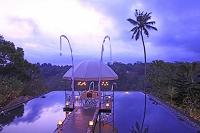 インドネシア バリ島 ホテルの東屋
