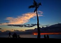 ハワイ オアフ島 アラモアナ・ビーチ