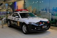 東京都 警察博物館のパトカー