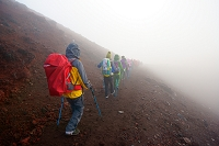 山梨県 富士登山 お鉢巡り