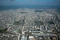 京都駅周辺より京都市街地(中京区方面)