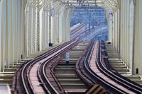 東武鉄道 スカイツリーライン 荒川放水路橋梁