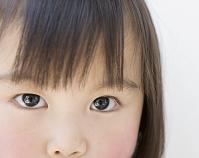 日本人の女の子の目