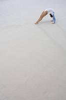 体操 床競技