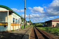 北海道 上ノ国町 桂岡駅