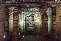 インド アジャンター石窟群