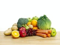 新鮮なフルーツと野菜の集合