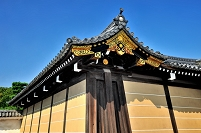 京都府 二条城 二の丸御殿唐門の塀