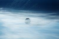北海道 カムイッシュ島と霧