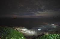 北海道 納沙布岬と星