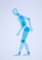 人型定規・腰痛