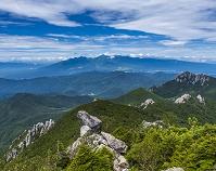 山梨県 瑞牆山と八ヶ岳