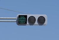 信号機 視覚制限灯器