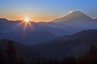 山梨県 富士山の日の出