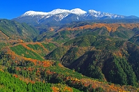 岐阜県 飛騨側より御岳山