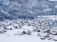 岐阜県 冬の白川郷