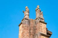 長崎県 平和公園 被爆した旧浦上天主堂の遺構