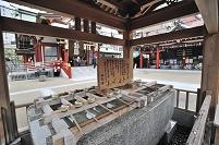 東京都 水天宮の手水舍(改修前)
