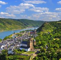 ドイツ  ラインラント=プファルツ州の街並み