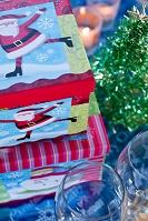 クリスマスプレゼントとクリスマスデコレーション