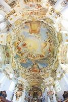 ドイツ バイェルン地方 ヴィースの巡礼教会