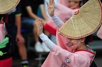 徳島県 夏の阿波踊り 娯茶平 女踊り