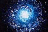 青い宇宙 イラスト
