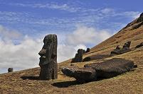 イースター島のモアイ像