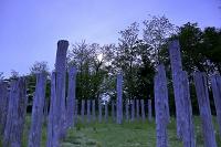 秋田県 大湯環状列石 5本柱建物
