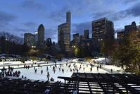 アメリカ ニューヨーク スケート場