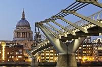 イギリス ロンドン ミレニアム・ブリッジ