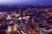 神奈川県 横浜 みなとみらいの夜景俯瞰
