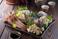 北海道の海の幸 刺身