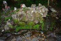 青森県 恐山 湧水
