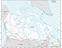 カナダ 交通図
