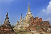 タイ アユタヤのワット・プラ・シー・サンペット