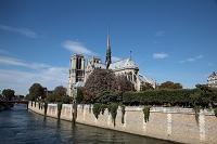 フランス パリ ノートルダム寺院 セーヌ河