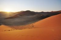 ナミビア ナミブ砂漠 Dune45