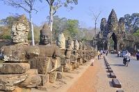 カンボジア アンコールトム遺跡