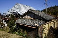 兵庫県 再生活動中の茅葺古民家