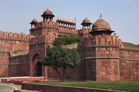 インド デリー レッド・フォート(赤い城) デリー門